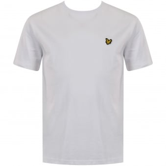 Lyle & Scott Junior White Logo T-Shirt