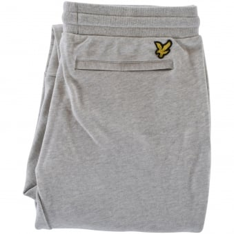 Lyle & Scott Light Grey Back Logo Joggers