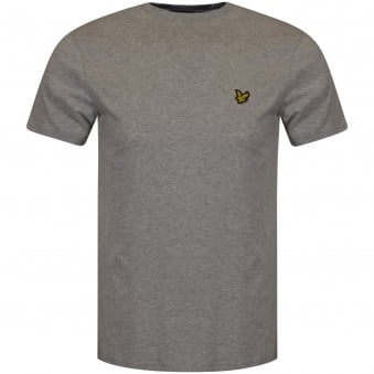 Lyle & Scott Light Grey Marl Logo T-Shirt