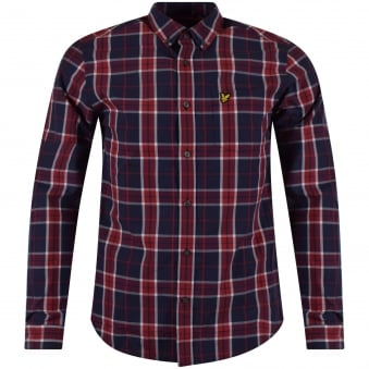 Lyle & Scott Long Sleeved Checked Shirt