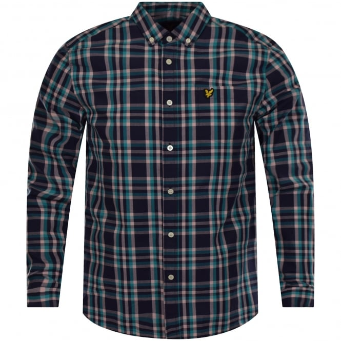 LYLE & SCOTT Multi Check Pocket Logo Shirt