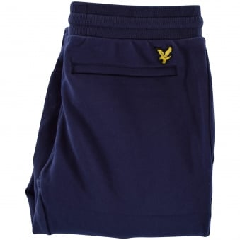 Lyle & Scott Navy Back Logo Joggers