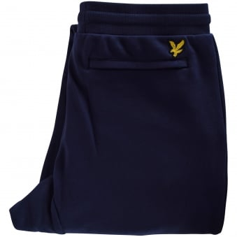 Lyle & Scott Navy Cuffed Joggers