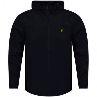 Lyle & Scott Navy Lightweight Windbreaker Jacket
