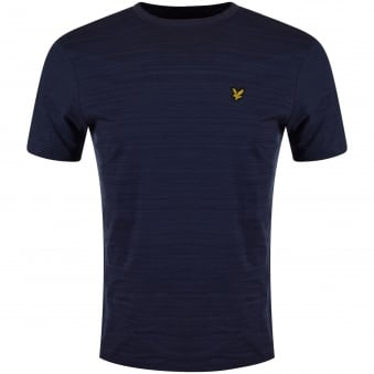 Lyle & Scott Navy Short Sleeved Tee