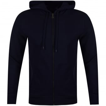 Lyle & Scott Navy Zip Up Hoodie