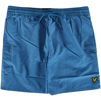 Lyle & Scott Pacific Blue Logo Swim Shorts