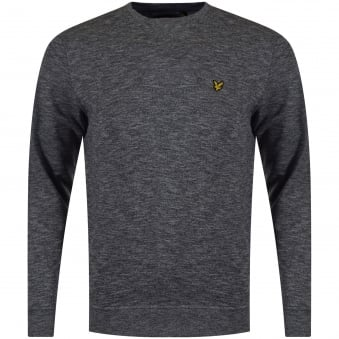 Lyle & Scott Salt & Pepper Logo Sweatshirt