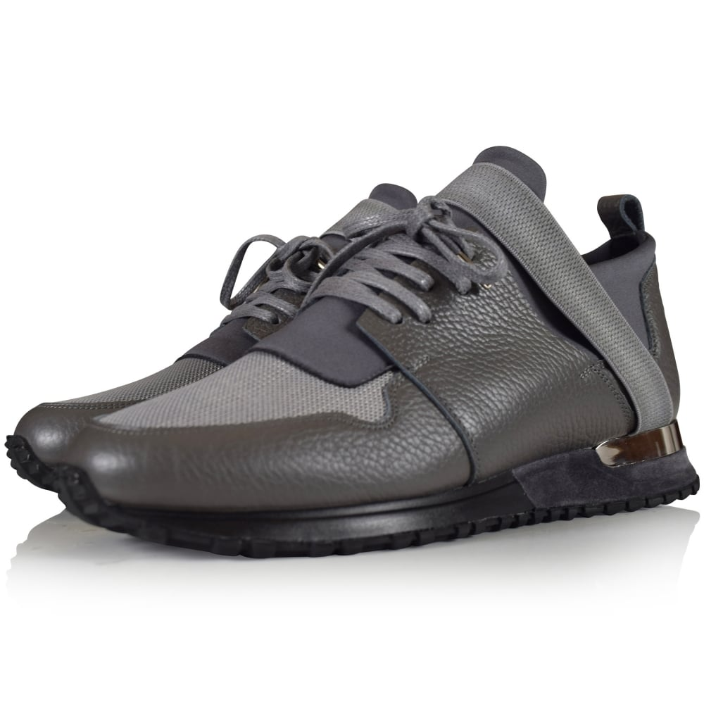 mallet elast leather trainers