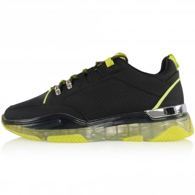 MALLET FOOTWEAR Black/Neon Elmore Trainers Side