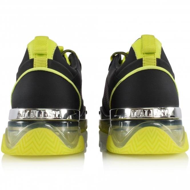 MALLET FOOTWEAR Black/Neon Elmore Trainers