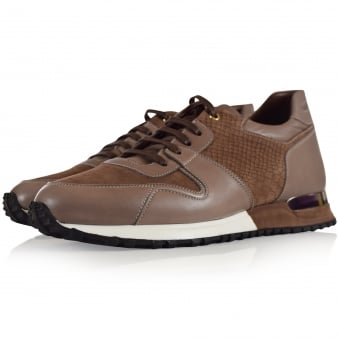 Mallet Footwear Brown Almorah Trainers