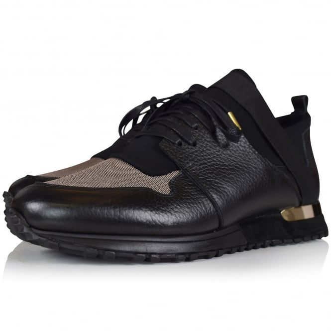 MALLET FOOTWEAR Elast Black Gold Trainers