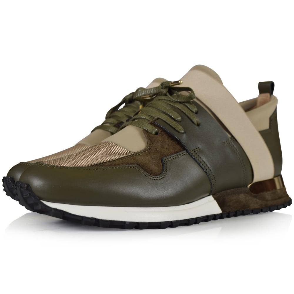 dbab90d158ec MALLET FOOTWEAR Mallet Earthtone Khaki Elast Trainers - Men from ...