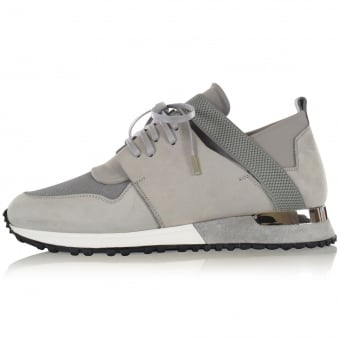 Mallet Pale Grey Elast Trainers