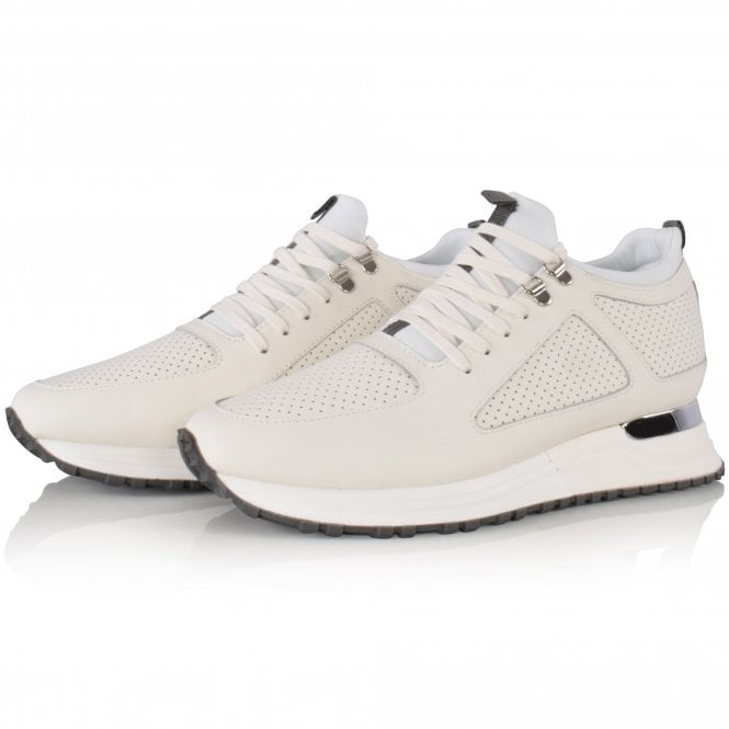MALLET FOOTWEAR White Diver 2.0 Trainers Front