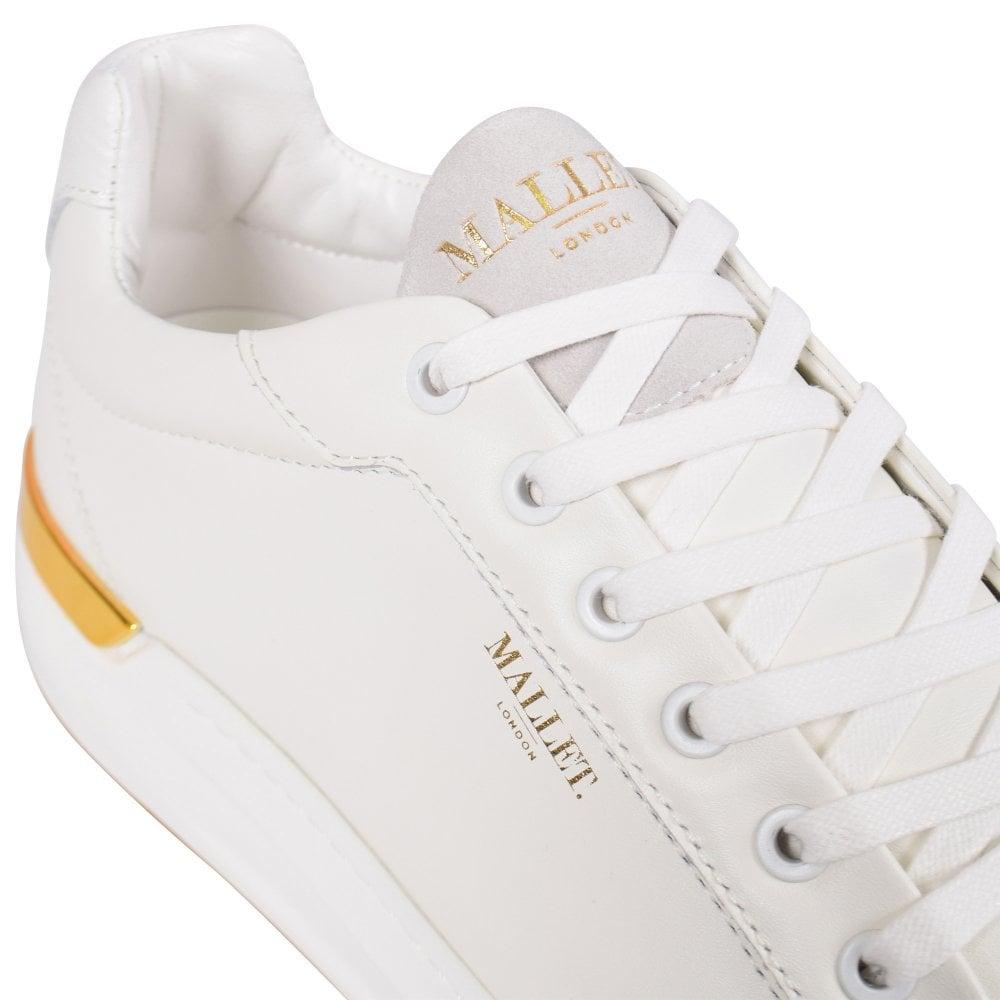 MALLET FOOTWEAR White GRFTR Trainers