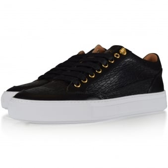 Mason Garments Black Tia Low Trainers