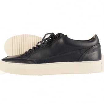 Mason Garments Tia Low Navy Trainers