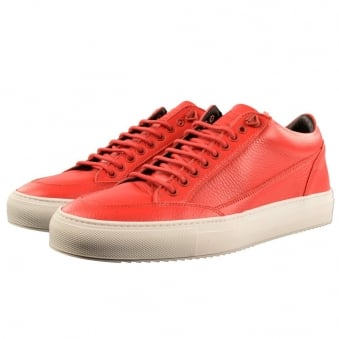 Mason Garments Red Tia Low Trainers