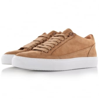 Mason Garments Tan Tia Low Trainers