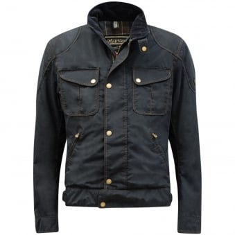 Matchless Navy Paddington Blouson Jacket