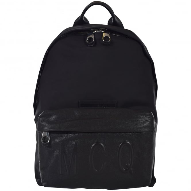 McQ by ALEXANDER MCQUEEN Black Classic Backpack