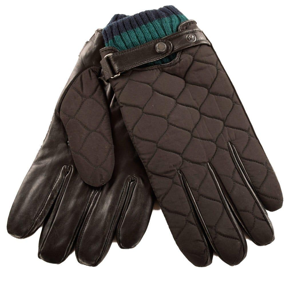 Ted Baker Mens Oblin Quilted Gloves