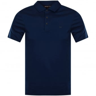 Michael Kors Admiral Blue Polo Shirt