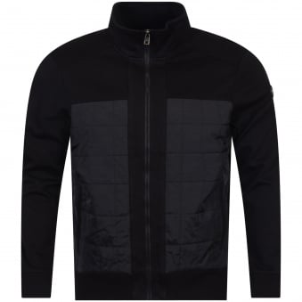 Michael Kors Black Quilted Panel Jacket
