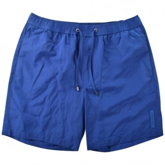 Michael Kors Blue Logo Swim Shorts