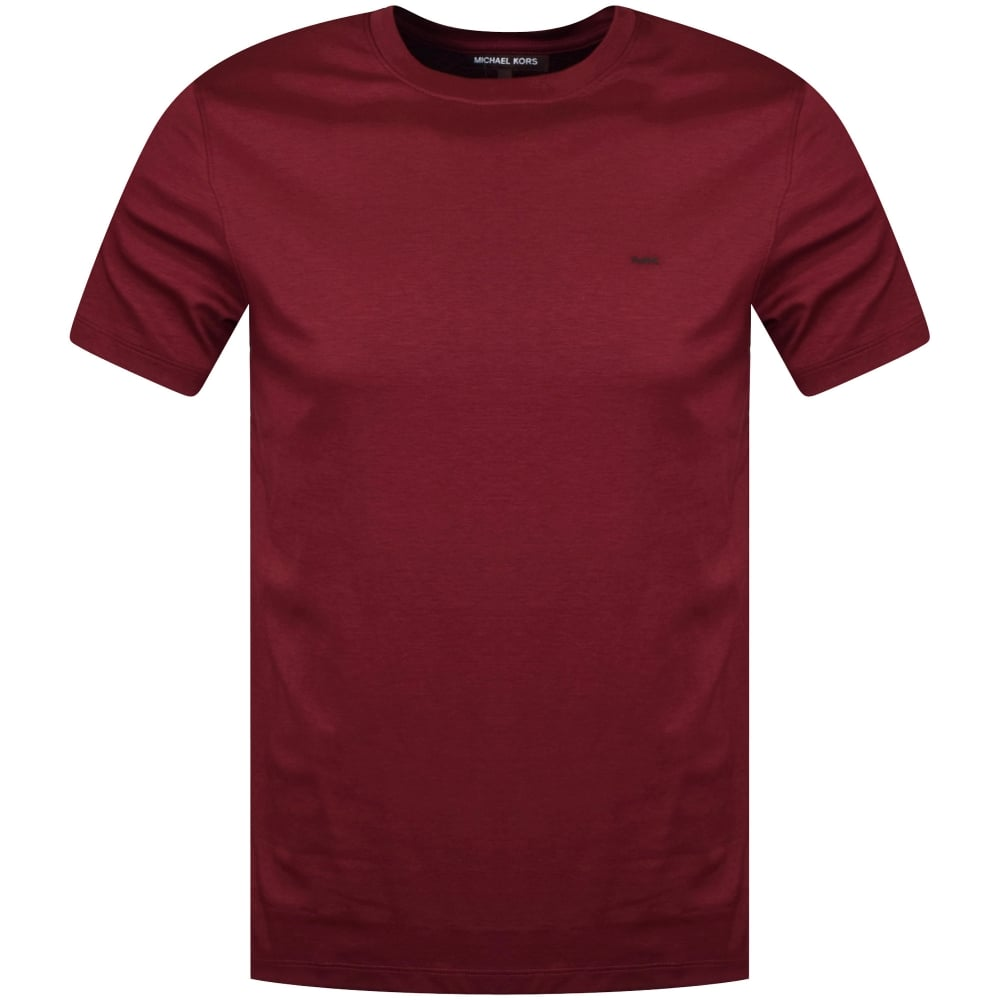 MICHAEL KORS Michael Kors Burgundy T-Shirt - Men from Brother2Brother UK 91dc8902a8c0