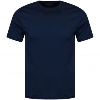 Michael Kors Denim Blue Logo T-Shirt