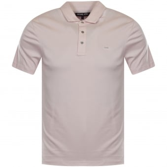 Michael Kors Faded Pink Polo Shirt