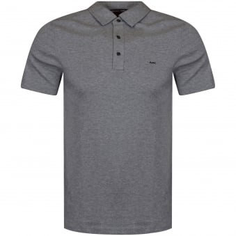 Michael Kors Grey Logo Polo Shirt
