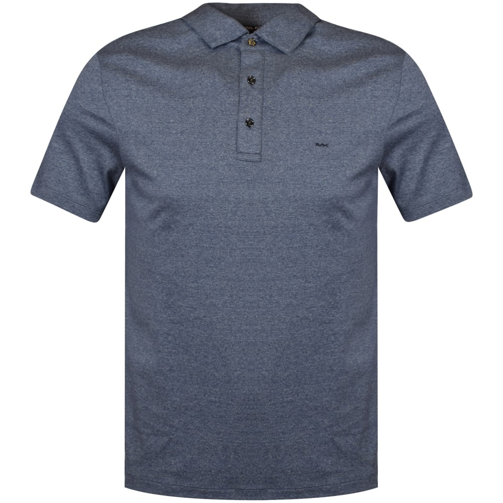 2aad1eda MICHAEL KORS Michael Kors Midnight Blue Polo Shirt - Department from ...