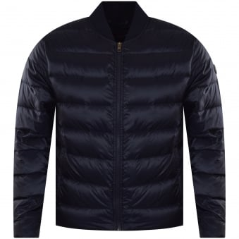 Michael Kors Midnight Blue Winter Weight Down Jacket
