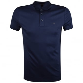 Michael Kors Navy Short Sleeve Polo Shirt