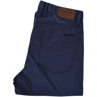 Michael Kors Navy Slim Fit Chinos