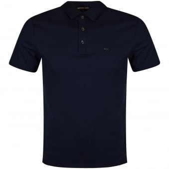 Michael Kors Navy Smart Polo Shirt