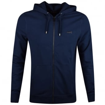 Michael Kors Navy Zip Through Hoodie