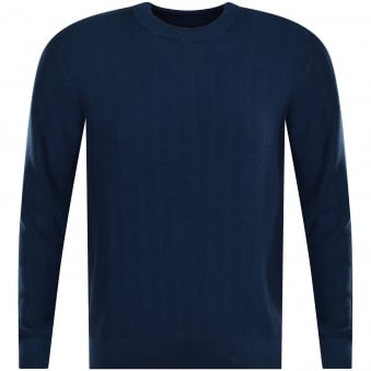 Michael Kors Ocean Blue Knitted Jumper