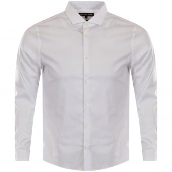 Michael Kors White Fitted Shirt
