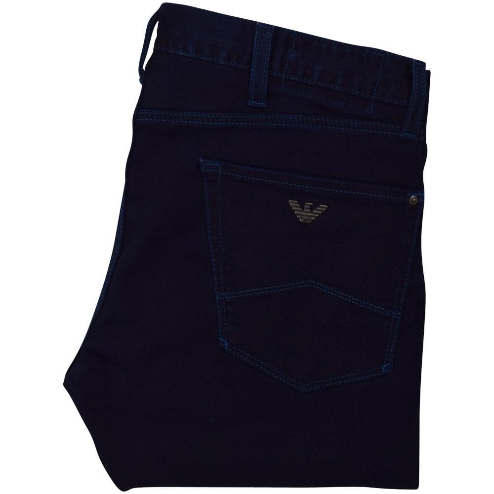 utterly stylish get cheap timeless design Mid Blue J35 Logo Jeans
