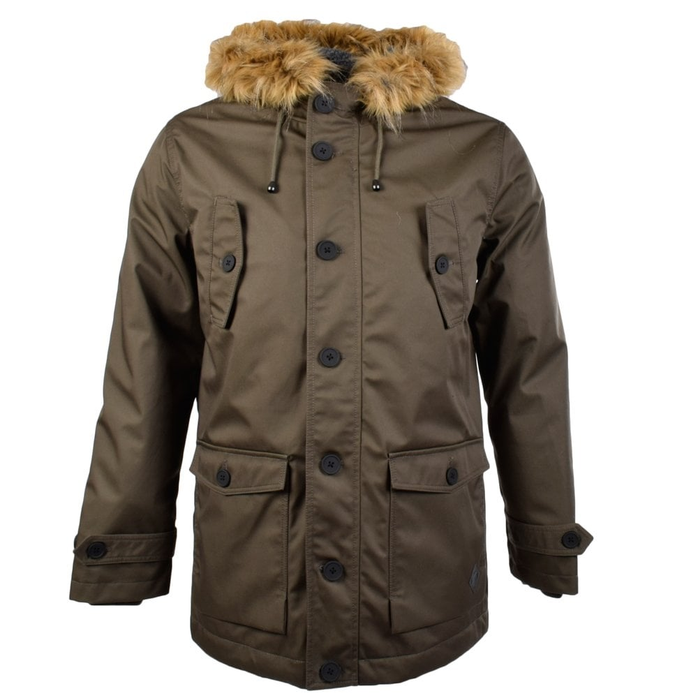 minimum minimum lake khaki green jacket parka coat men. Black Bedroom Furniture Sets. Home Design Ideas