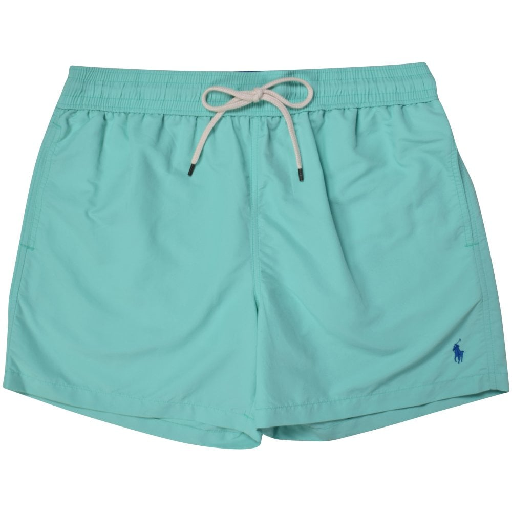 8f3506c47122 POLO RALPH LAUREN Mint Polo Logo Swim Shorts - Men from ...