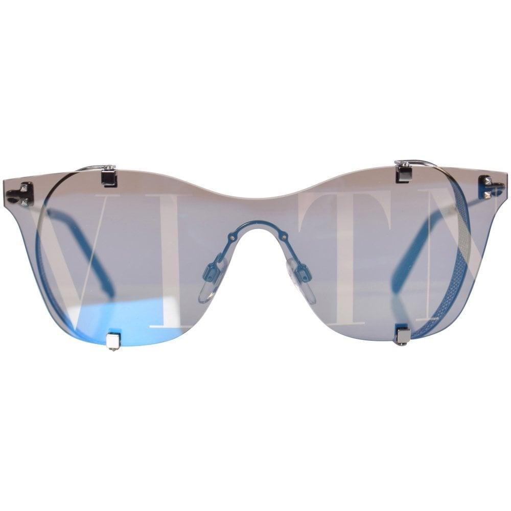 fbc97898120d7 VALENTINO Mirrored VLTN Frameless Sunglasses - Men from ...