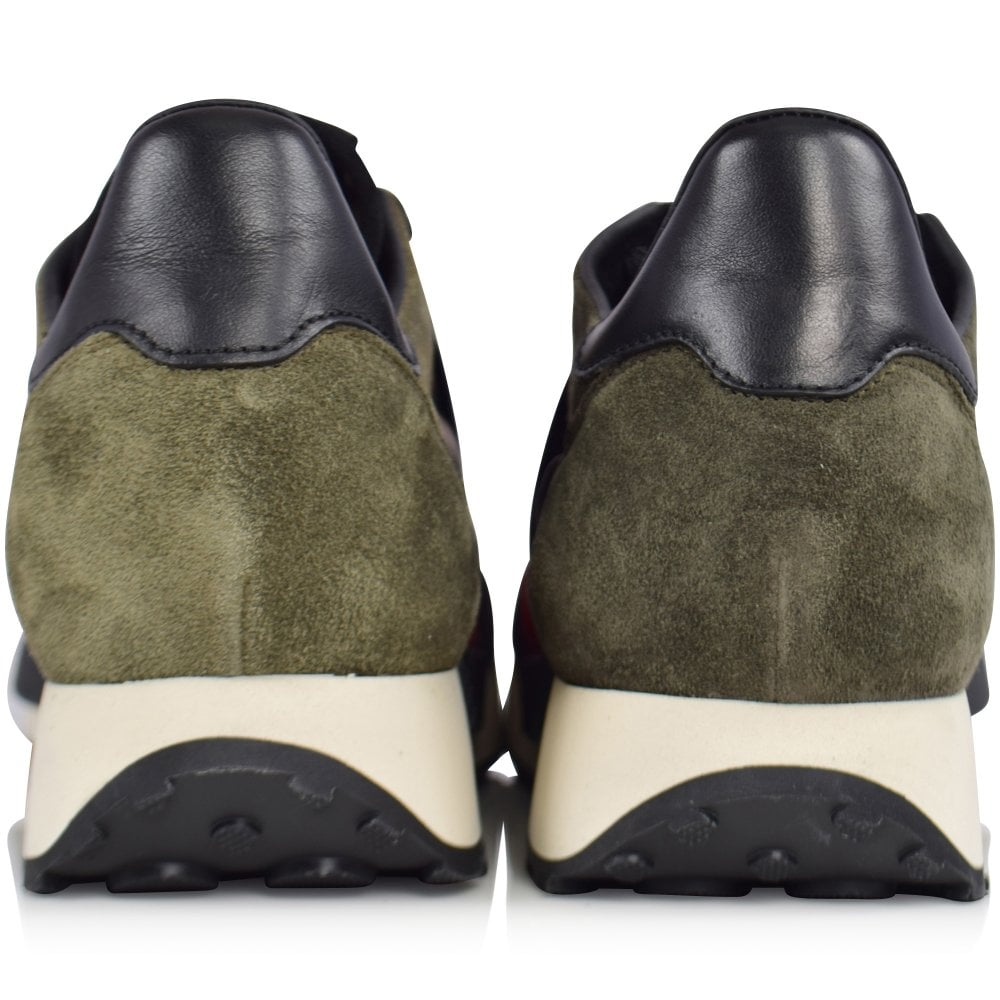 MONCLER Horace Camo Runner Trainers