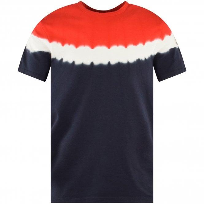 MONCLER Tie-Dye Logo T-Shirt