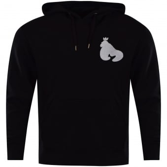 Money Clothing Black Embroidered Sig Ape Hoodie